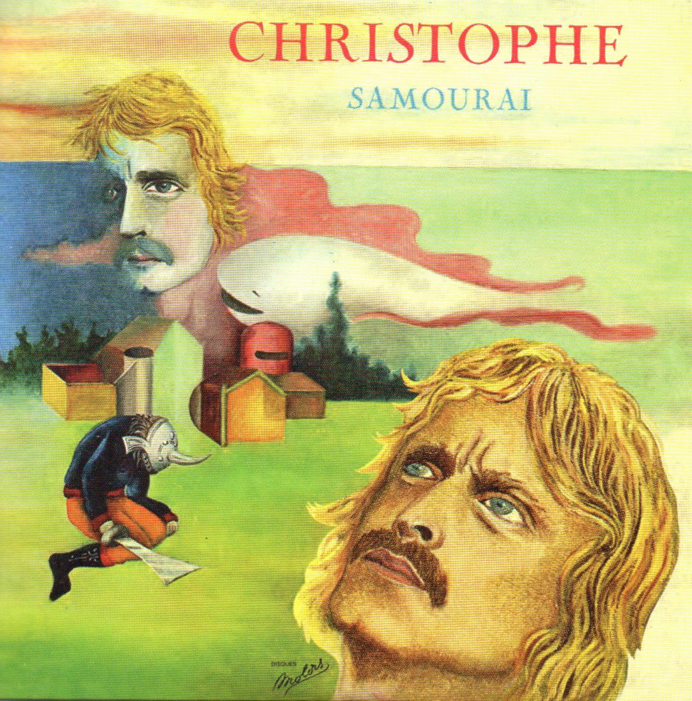 CHRISTOPHE - Samourai - Mini LP Replica CARD SLEEVE - 8-TRACK - CD