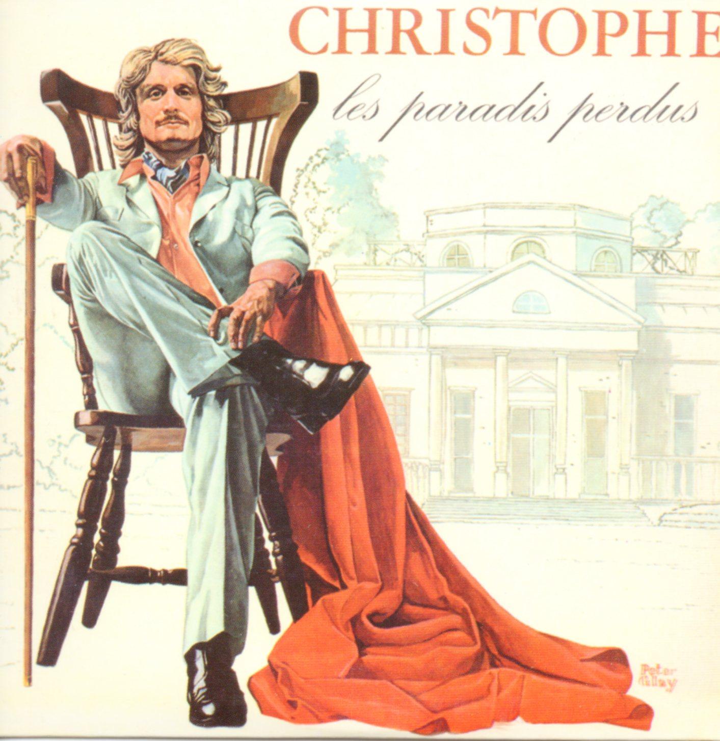 CHRISTOPHE - JEAN-MICHEL JARRE - Les paradis perdus - Mini LP Replica CARD SLEEVE - 9-TRACK - CD