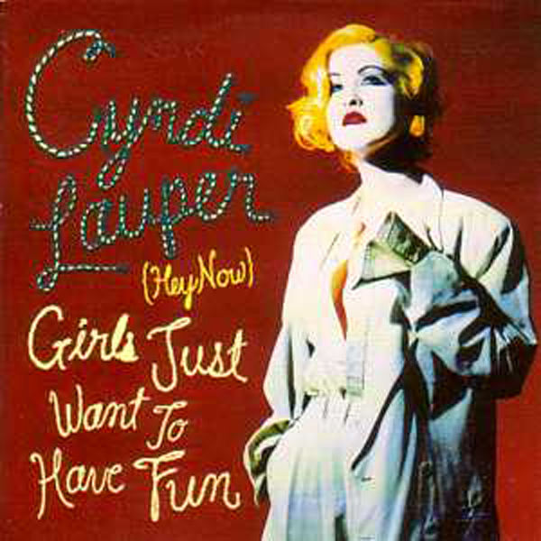 Cyndi LAUPER - Girls Just Want To Have Fun 2 Tracks Card Sleeve