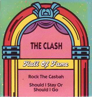 "CLASH - Rock The Casbah 3""cd Card Sleeve 2-track"