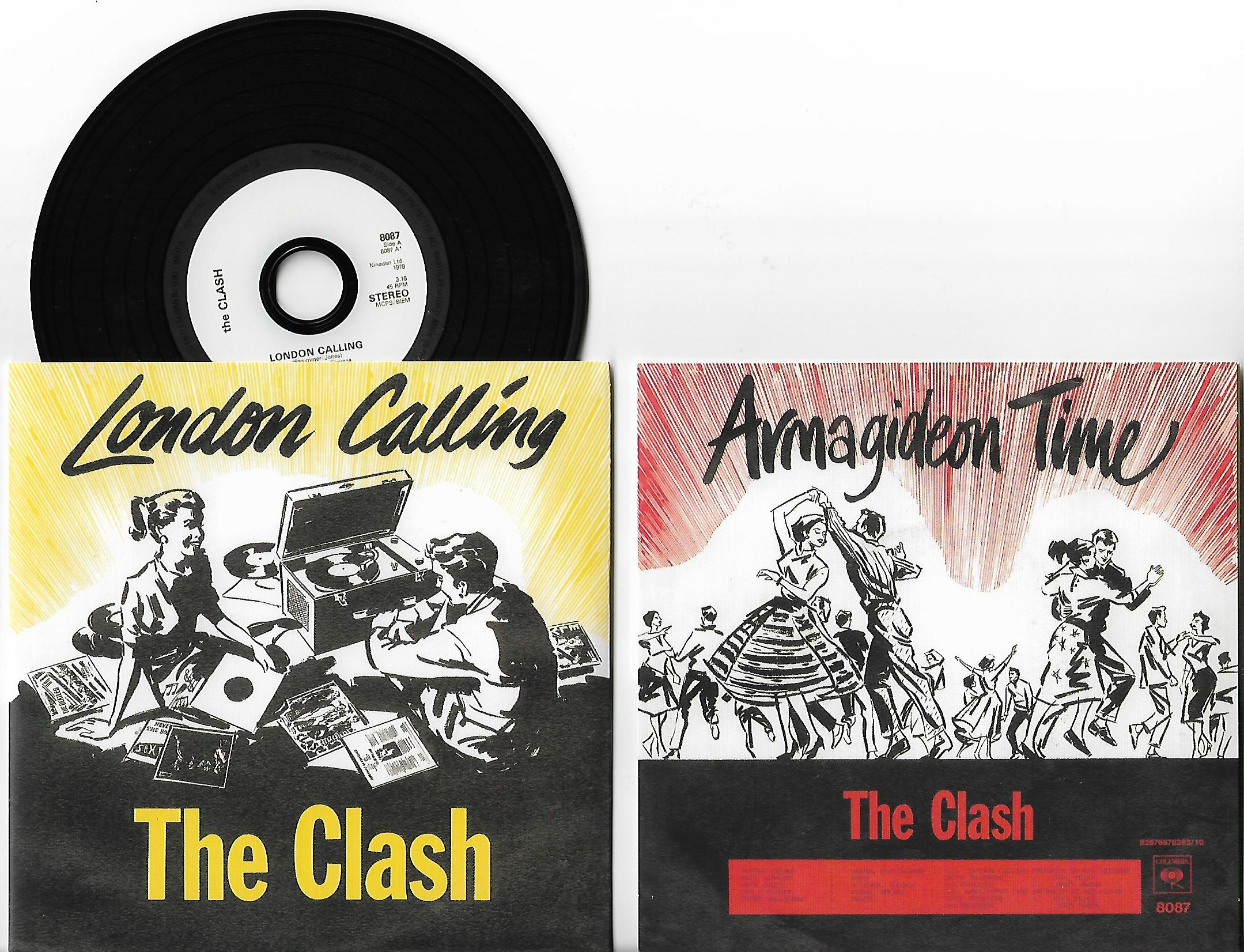 CLASH - London Calling 7-track Card Sleeve