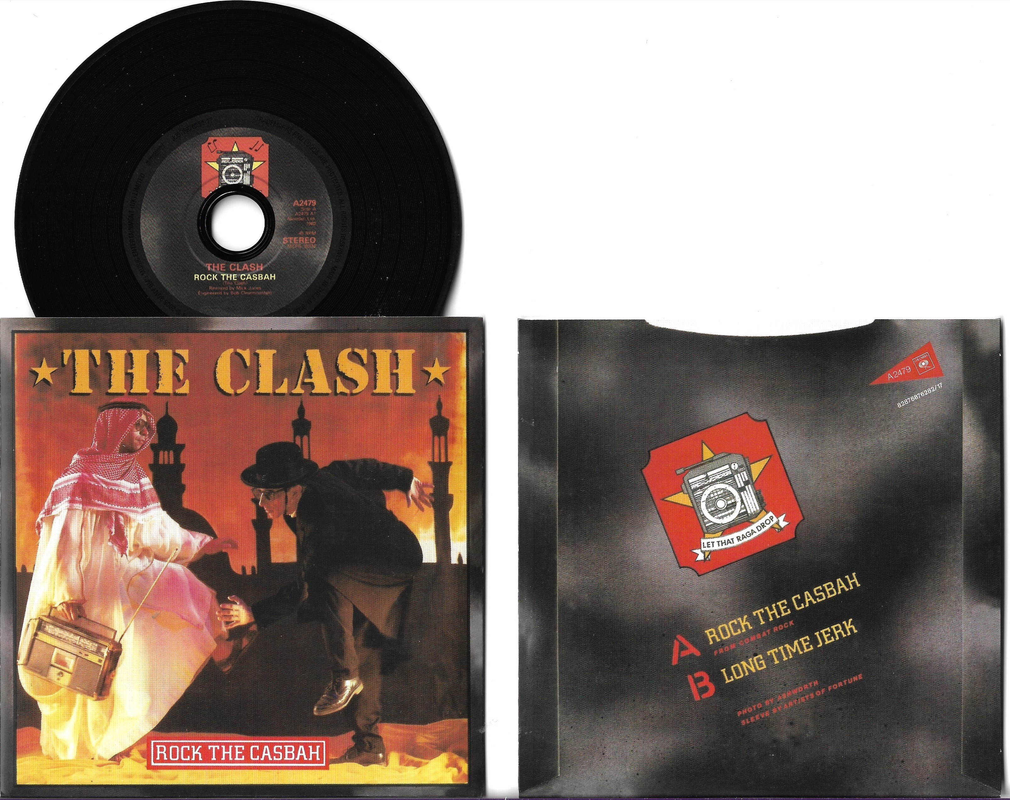 CLASH - Rock The Casbah 5-track Card Sleeve