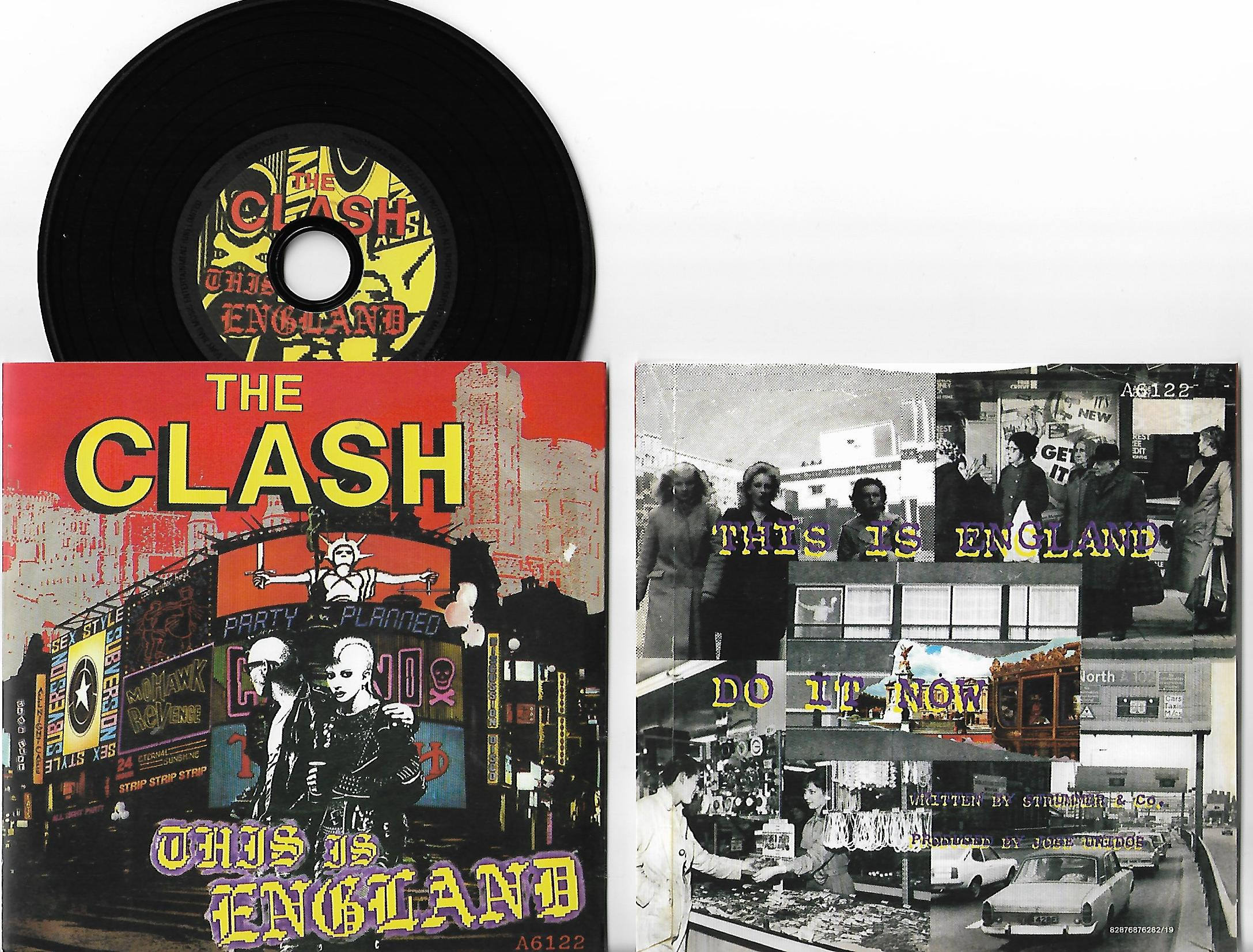 CLASH - This Is England 3-track Card Sleeve