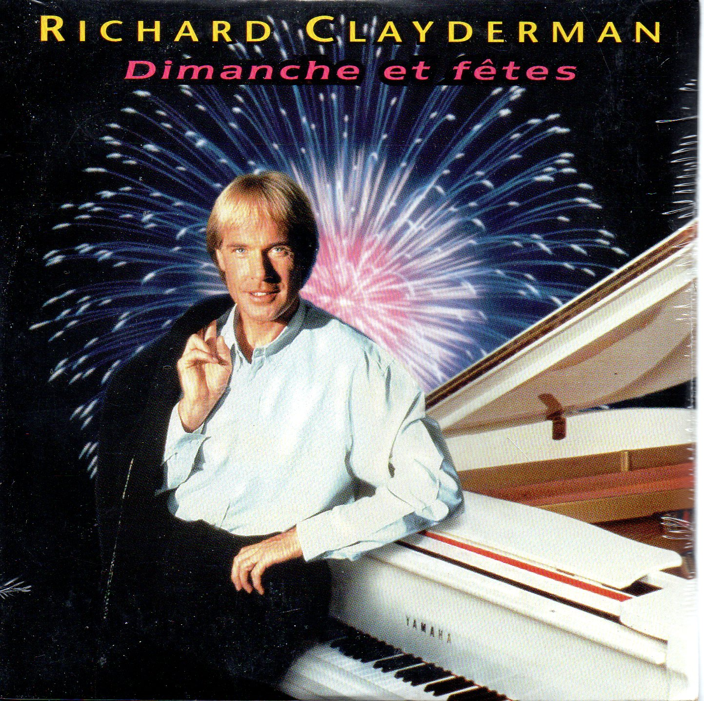 RICHARD CLAYDERMAN - Dimanche et f?tes 2-Track CARD SLEEVE - CD single