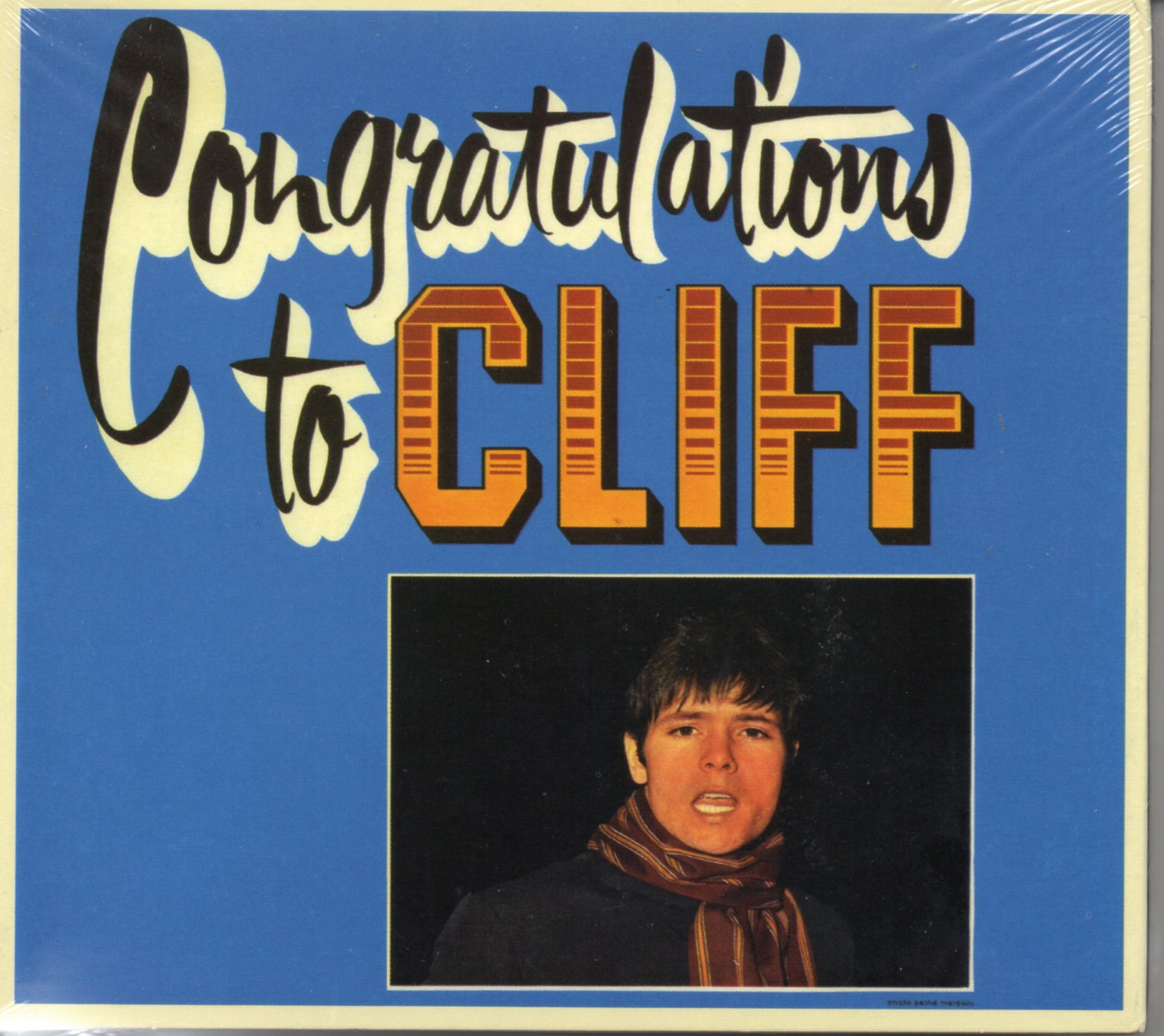 CLIFF RICHARD - THE SHADOWS - Congratulations - CD x 2