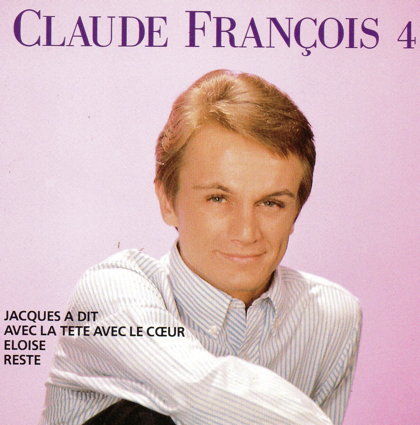 CLAUDE FRANÇOIS - Vol 4 -  Jacques a dit - CD