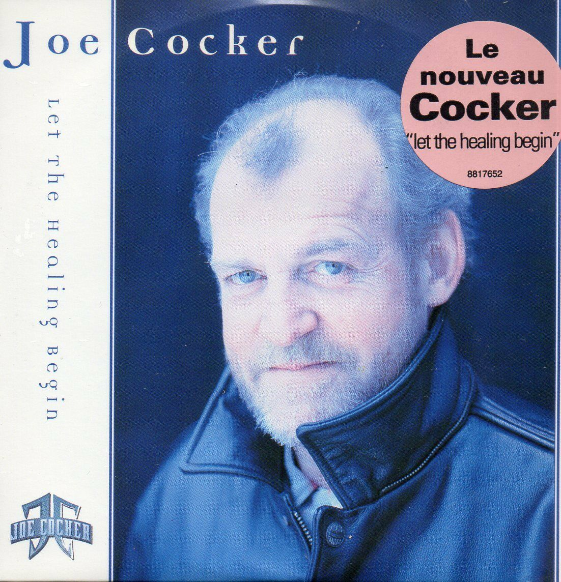 Joe COCKER - Let The Healing Begin 2-track Card Sleeve