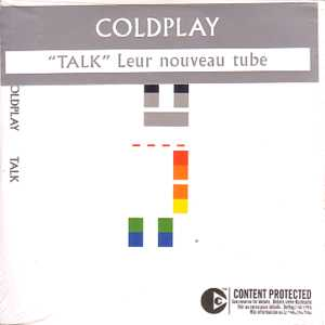 COLDPLAY - Talk 2-track Card Sleeve With French Sticker