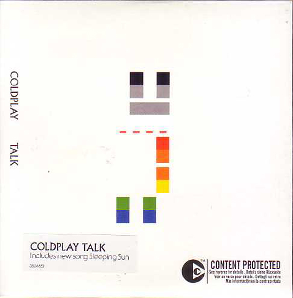 COLDPLAY - Talk 2-track Card Sleeve
