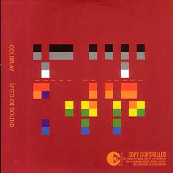 COLDPLAY - Speed Of Sound 2-track Card Sleeve