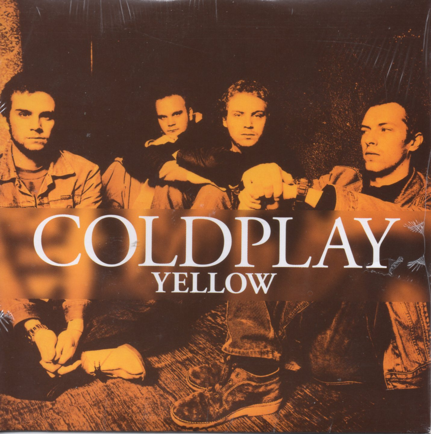 COLDPLAY - Yellow Card Sleeve 2-track