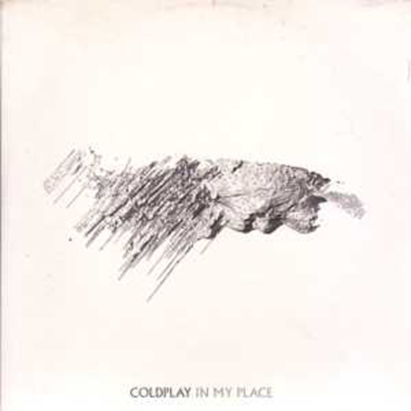 COLDPLAY - In My Place Promo Card Sleeve 1 Track