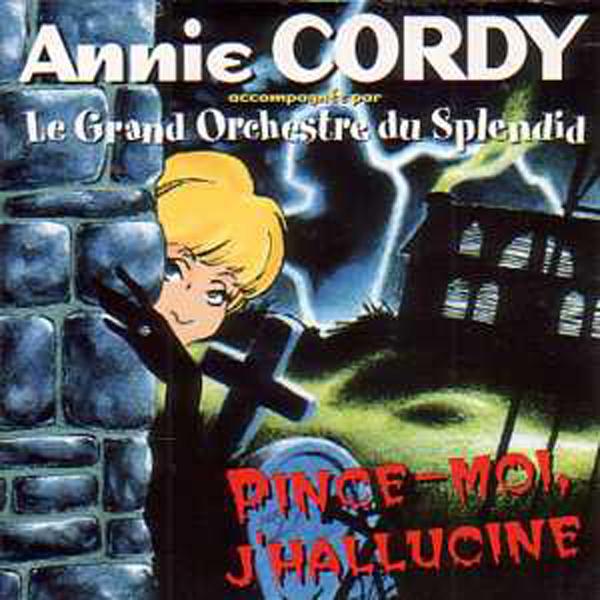 ANNIE CORDY - Pince-moi j'hallucine 2 Tracks CARD SLEEVE - CD single