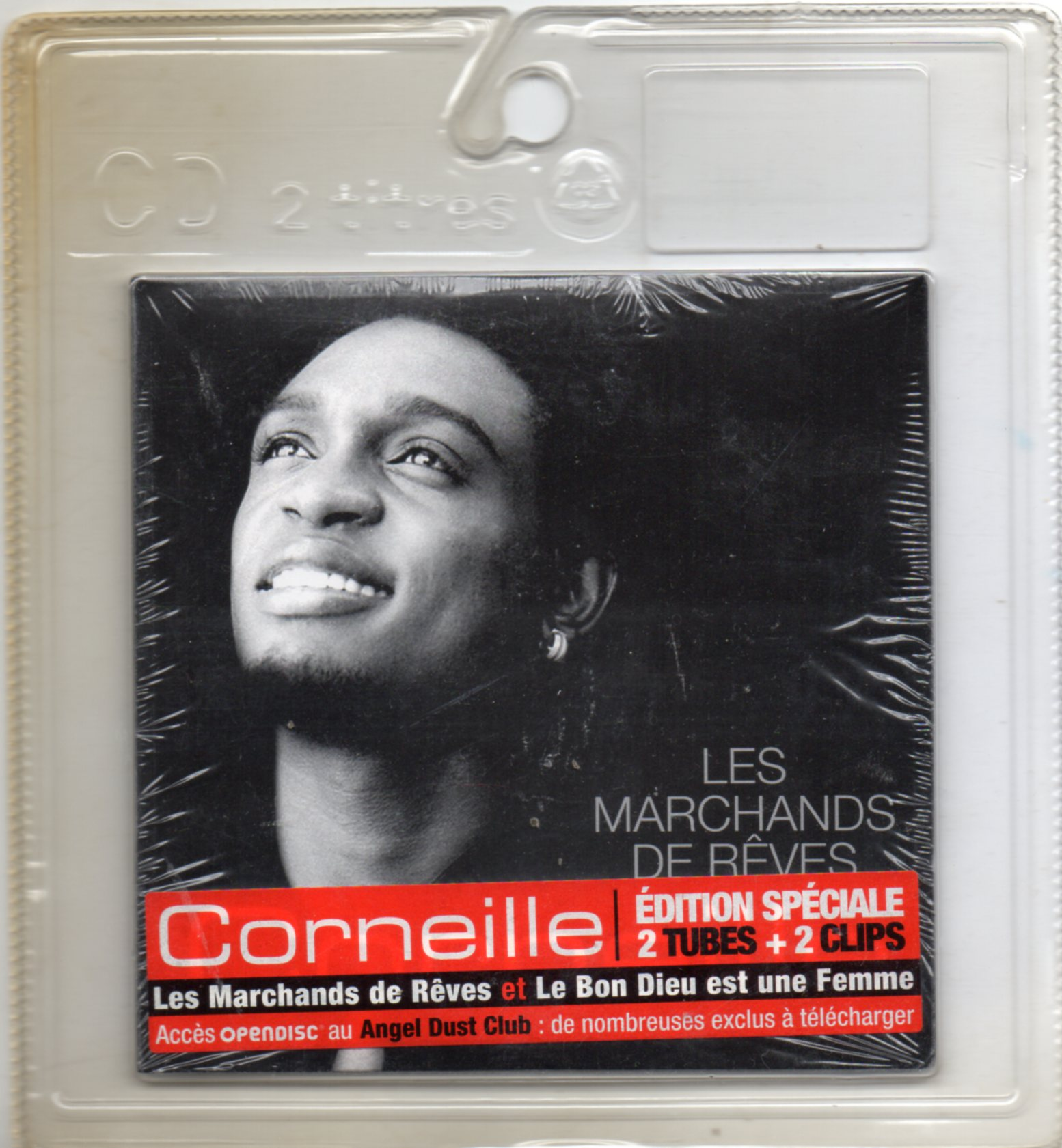 CORNEILLE - Comme un fils 2-track CARD SLEEVE PROMO - CD