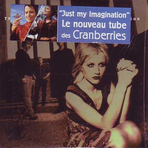 THE CRANBERRIES - Just my imagination CARD SLEEVE Sticker 2-Track - CD single