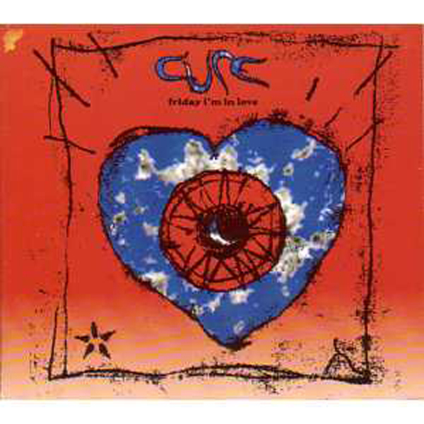 CURE - Friday I'm In Love 4-track Digipack