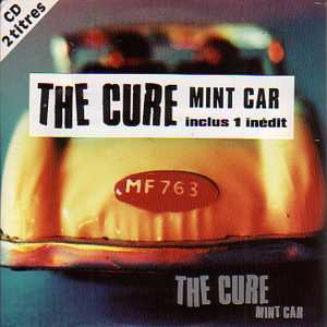 CURE - Mint Car 2-track Card Sleeve With French Sticker