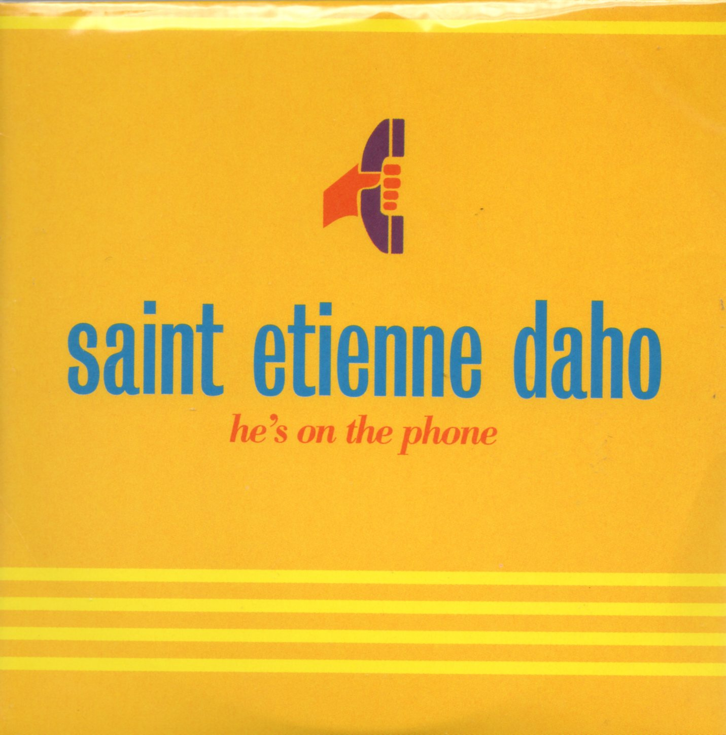 ETIENNE DAHO & SAINT ETIENNE - He's on the phone 2-track CARD SLEEVE - CD single