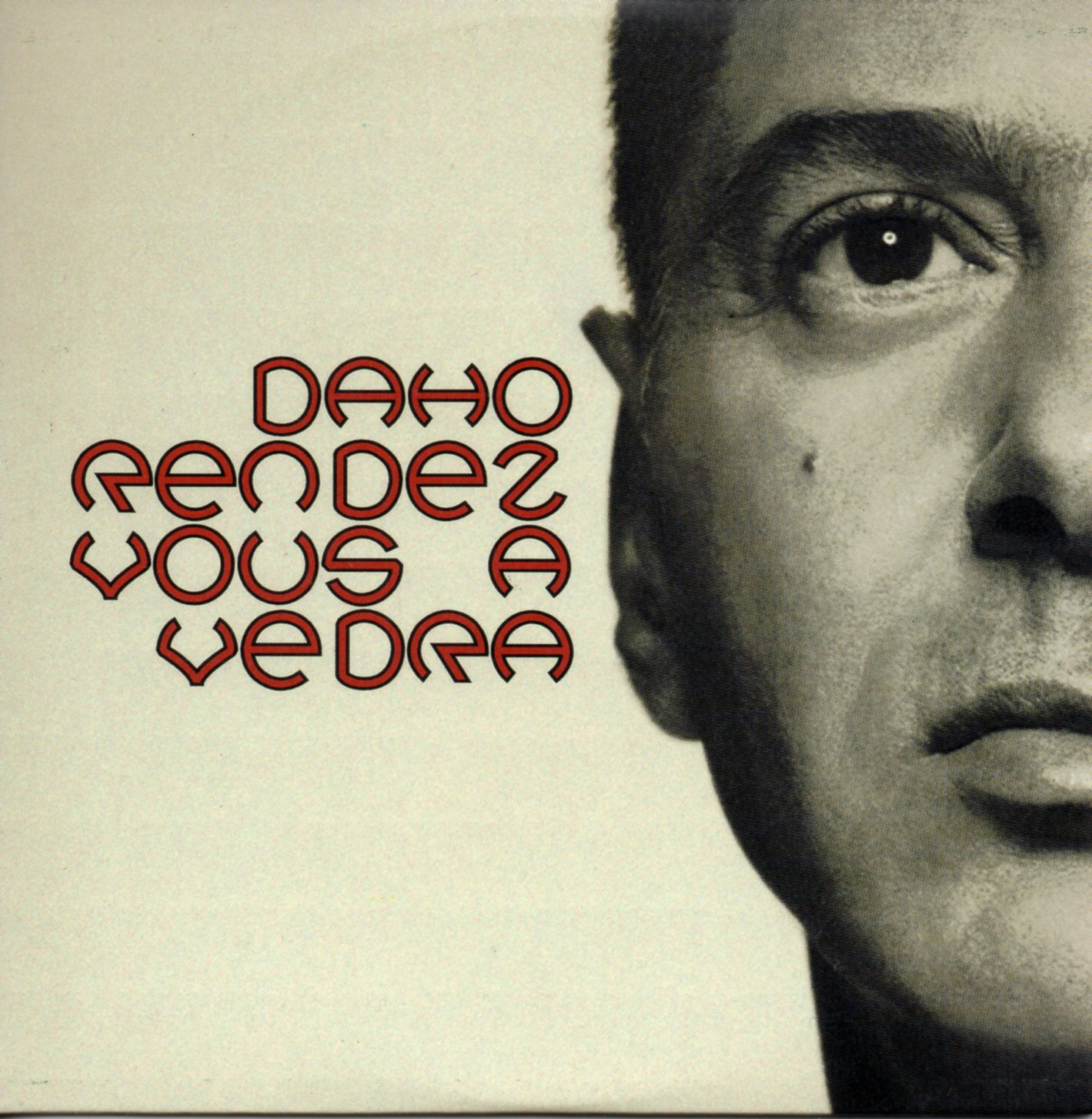 ETIENNE DAHO - Rendez vous a Vedra Promo 1-track CARD SLEEVE - CD single