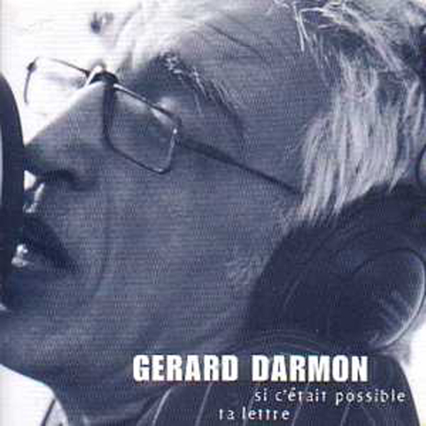DARMON GERARD - Si c'etait possible promo 2 tracks CARD SLEEVE - CD single