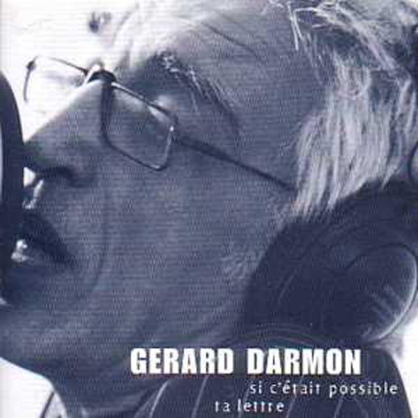 GÉRARD DARMON - Si c'etait possible promo 2 tracks CARD SLEEVE - CD single
