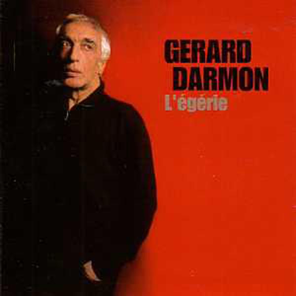 GÉRARD DARMON - L'egerie promo 1 track CARD SLEEVE - CD single