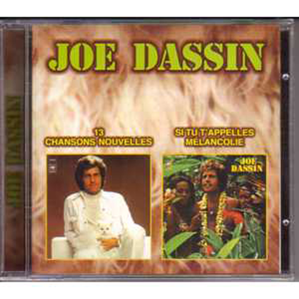 JOE DASSIN - 13 chansons nouvelles / Si tu t'appelles Melancolie   2 original albums on 1 CD + Bonus - CD