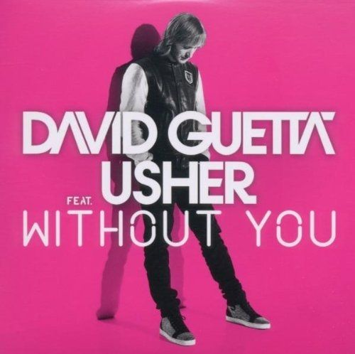 DAVID GUETTA FEAT USHER - Without you 2-track CARD SLEEVE - CD single