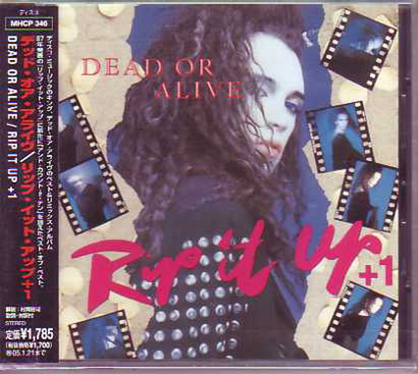 DEAD OR ALIVE - STOCK AITKEN WATERMAN - Rip it up 9-track - Japan - CD Maxi
