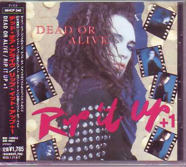 DEAD OR ALIVE - STOCK AITKEN WATERMAN - Rip it up 9-track - Japan - MCD
