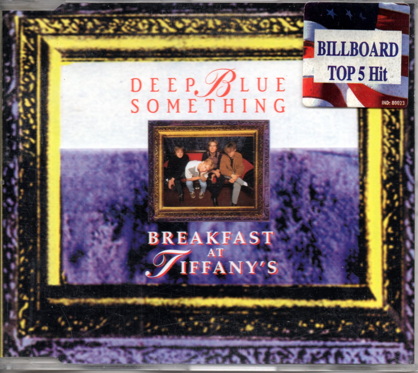 DEEP BLUE SOMETHING - Breakfast at Tiffany's 3-Track jewel case - CD Maxi