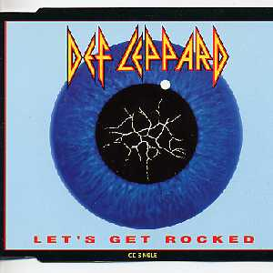 DEF LEPPARD - Let' Get Rocked 3-track Jewel Case