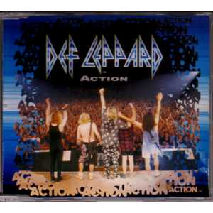 DEF LEPPARD - Action 3-track Jewel Case