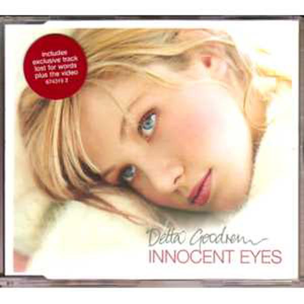 DELTA GOODREM - Innocent eyes 4-track jewel case Sticker - CD Maxi