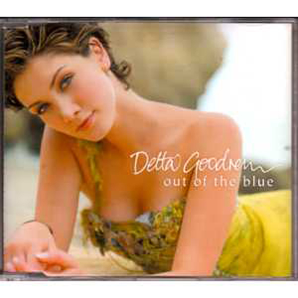 DELTA GOODREM - Out Of The Blue 2004 EU 2-track promo - CD Maxi