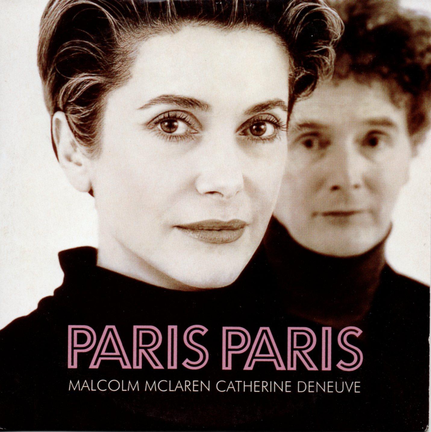 CATHERINE DENEUVE & MALCOLM MCLAREN - Paris Paris 2-Track CARD SLEEVE - CD single