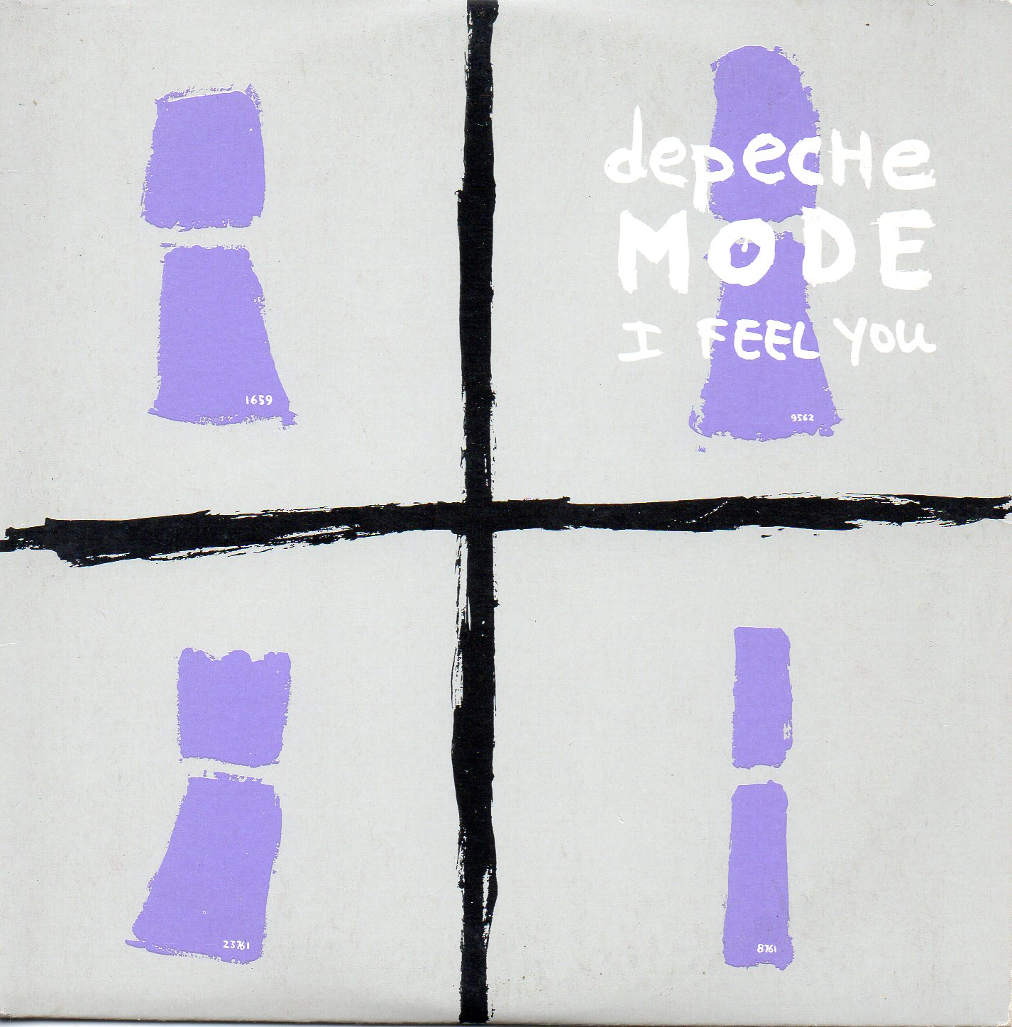 Depeche Mode - I Feel You single cover