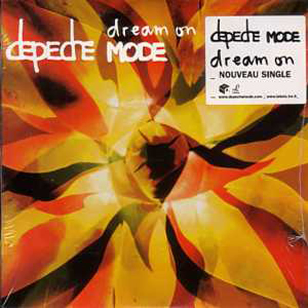 DEPECHE MODE - Dream On 2-track Card Sleeve Sticker