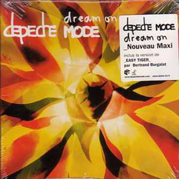 DEPECHE MODE - Dream On 3-track Card Sleeve With Sticker