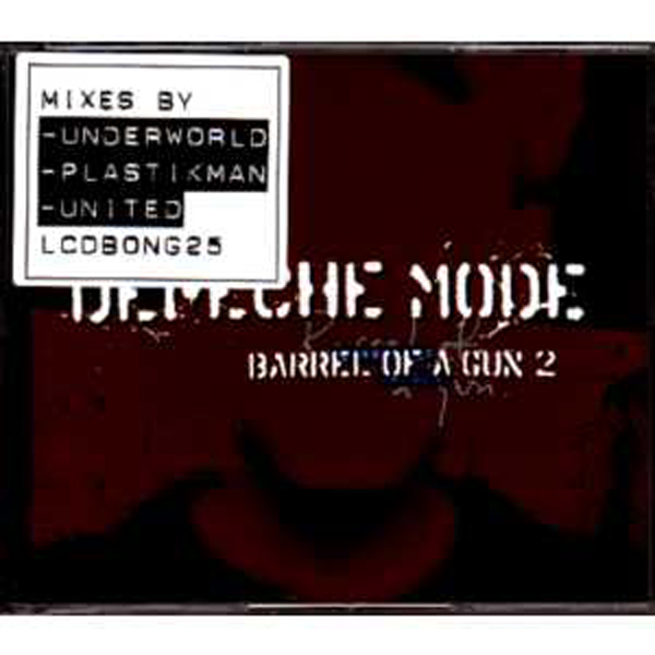 DEPECHE MODE - Barrel Of A Gun Cd2 3-track Jewel Case Sticker
