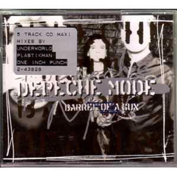 DEPECHE MODE - Barrel Of A Gun 5 Tracks Jewel Case