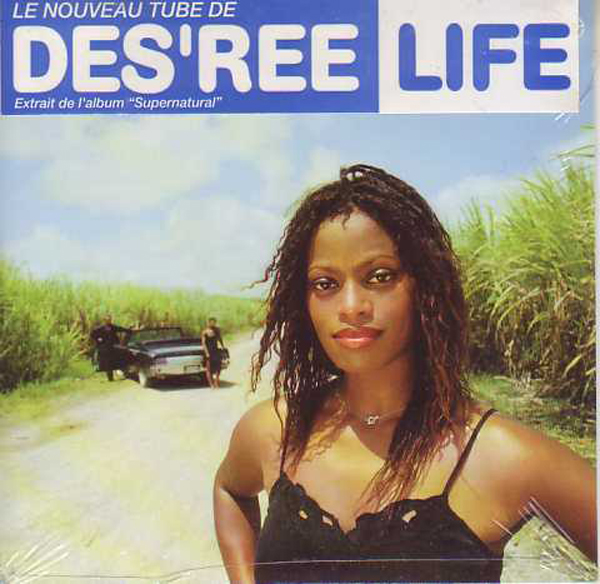 DES'REE - Life 2-track CARD SLEEVE - CD single