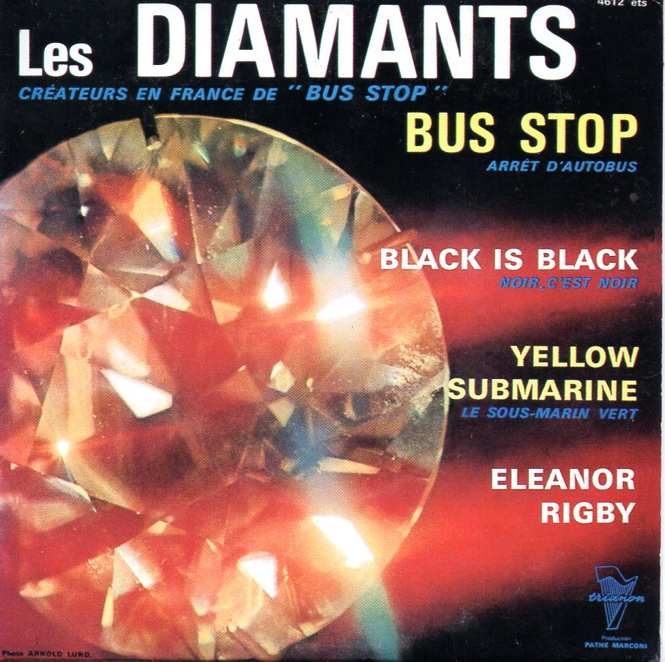 LES DIAMANTS - THE BEATLES - Bus Stop EP 4-Track CARD SLEEVE - CD single