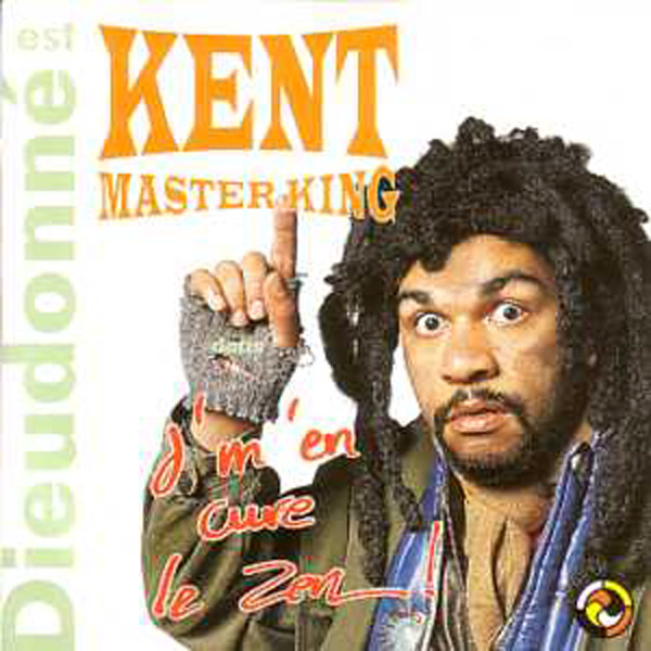 DIEUDONNE - Kent Mastering - J'en cure le zen 2-track CARD SLEEVE - CD single