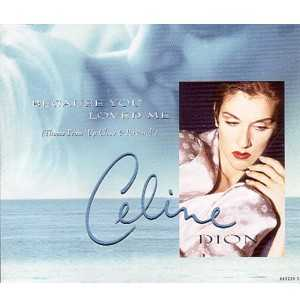 Celine DION - Because You Loved Me 4-track Jewel Case