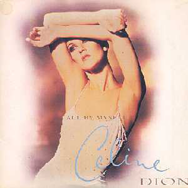 Celine DION - All By Myself 2 Tracks Card Sleeve