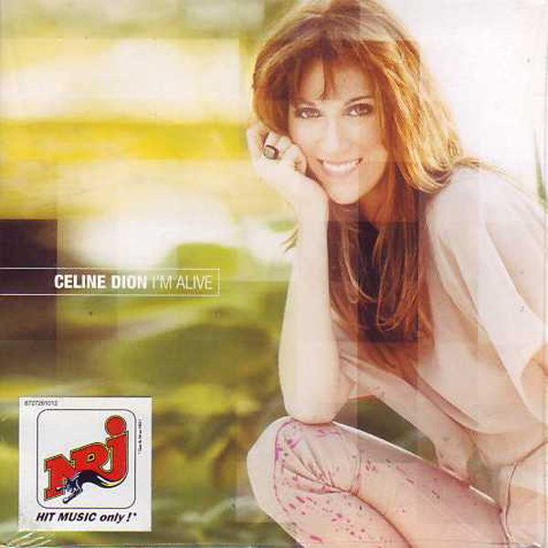 CÉLINE DION - I'm alive 2-Track CARD SLEEVE - CD single
