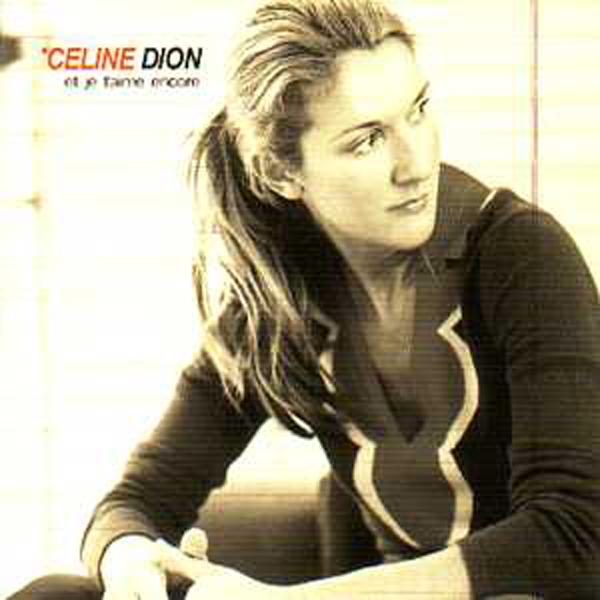 CÉLINE DION - Et je t'aime encore CARD SLEEVE 3 tracks - CD single