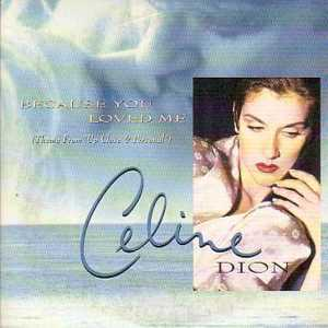 Celine DION / Soundtrack up close &amp; personal - Because You Loved Me 2-track Card Sleeve