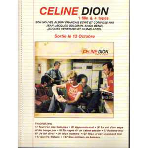 CÉLINE DION - Promo sampler 5 Tracks  Preco / cardboard PLV   RARE !! - CD
